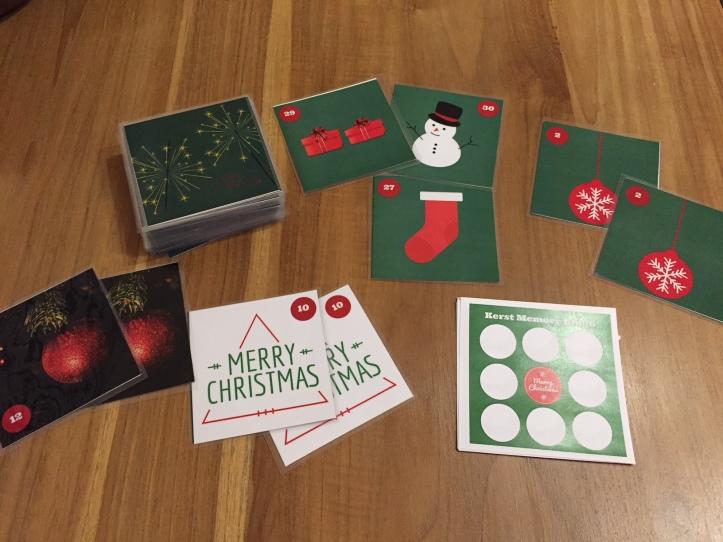 Kerst Memory Bingo